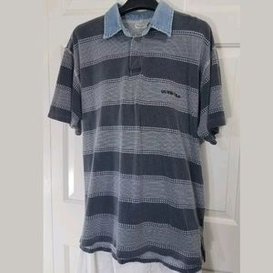 VTG Guess USA Jeans Striped Polo